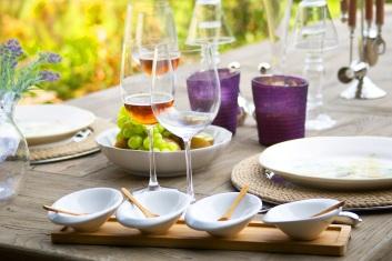 Déjeuner oenogastronomique en Provence