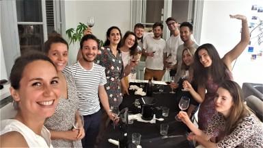 Atelier dégustation Iniatiation Oenologie entre amis à domicile