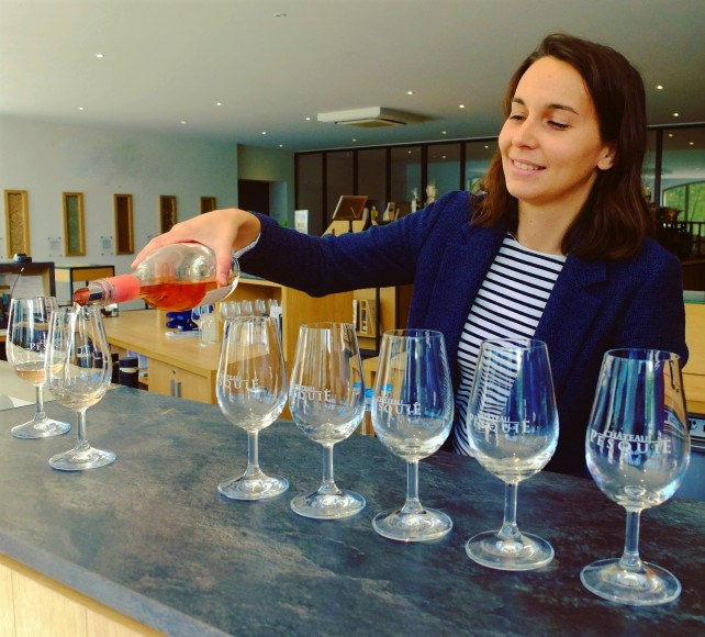 Dégustation de vins Sarah Lafleur Les Convives de Lafleur