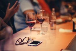 Canva - Wine Glasses On Table