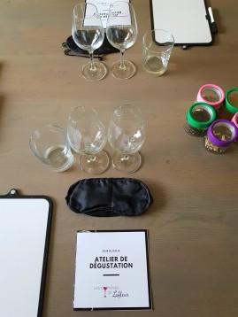 Atelier de dégustation de vin