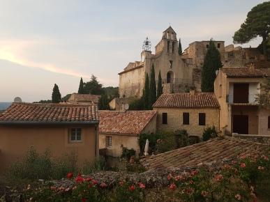 Village de Gigondas en Provence